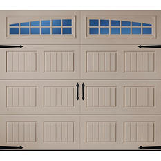 Amarr Oak Summit 2000 Sandtone Carraige House Garage Door - Multiple Options Available