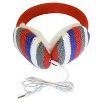 Lobers Fashion Earmuffs Wired for Sound - Pink Stripe