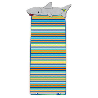 Kids Roll Up Mat - Shark