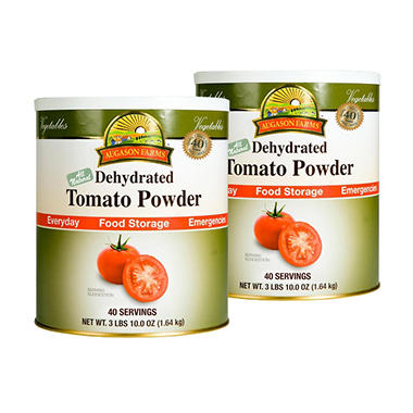 Augason Farms Tomato Powder - #10 cans - 2 pk.
