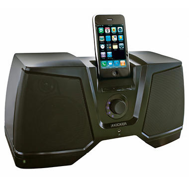 Kicker iK350 iPhone/iPod Dock w/ Battery Pack