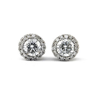 .50 ct. t.w. Unique Brilliance Diamond Stud Earrings in 14K White Gold (HI, I1)
