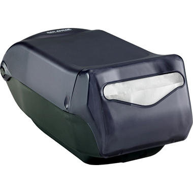 San Jamar Napkin Dispenser Countertop - Black