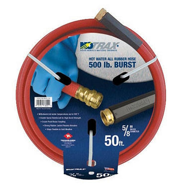 "Superior Mfg. Hot Water Hose - 25"" x 5/8"""