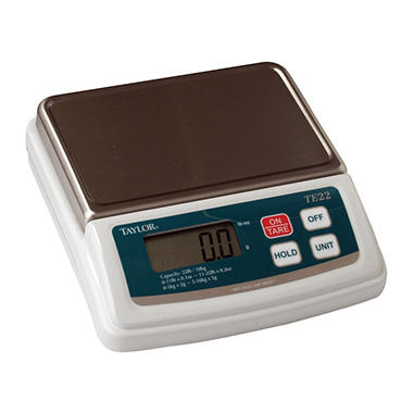 Taylor Precision Digital Scale - 22 lb.