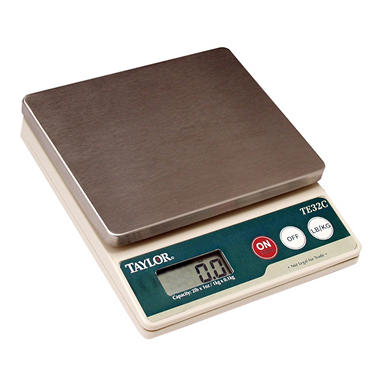 Taylor Precision Digital Compact Scale - 2 lb.