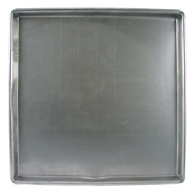 "Allied Metal Anodized Sicilian Pizza Pan - 16"" or 18"" sq."