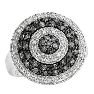 0.63 ct. t.w. Silvermist Wheel Ring in Sterling Silver