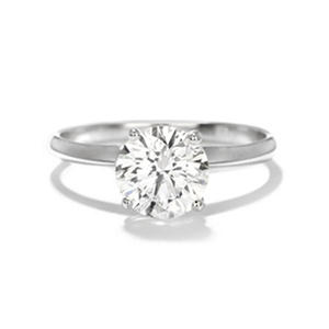 Premier Diamond Collection 1.61 CT. Round Solitaire Engagement Ring in 14K White Gold G-H, I1 (IGI Appraisal Value: $13,400)