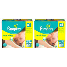 Pampers Swaddlers Pick 2 Diaper Bundle (Choose Your Sizes)