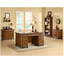Whalen Furniture - Belhaven Executive Collection - 4 Pc.