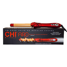 "CHI ARC Automatic Rotating Curler, 1 1/4"" Barrel & 2.6 oz. Hairspray"
