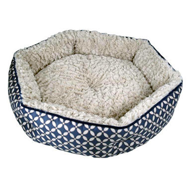 CloudNine Cuddler Pet Bed - Blue