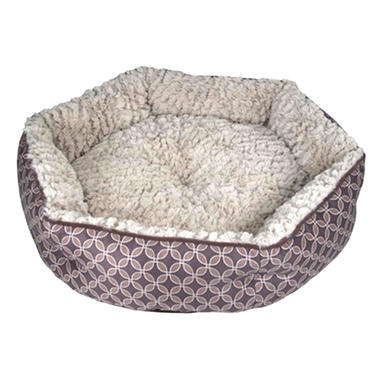 CloudNine Cuddler Pet Bed - Brown