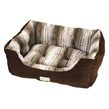 DreamersDelight Pet Bed - Brown