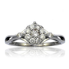 .47 ct. t.w. Diamond Ring in 14K White Gold (HI, I1)