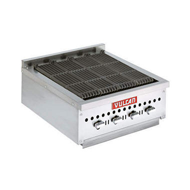 "Vulcan 25"" Low Profile Charbroiler"