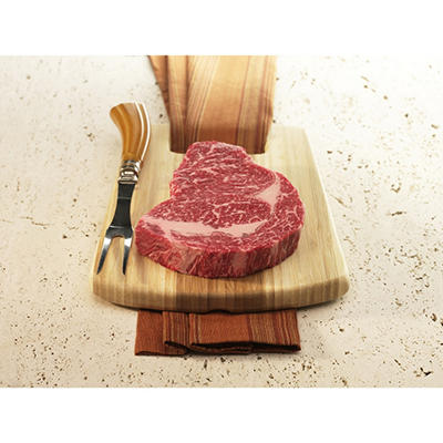 Kobe Beef of Texas Ribeye - 12 oz. - 6 pk.
