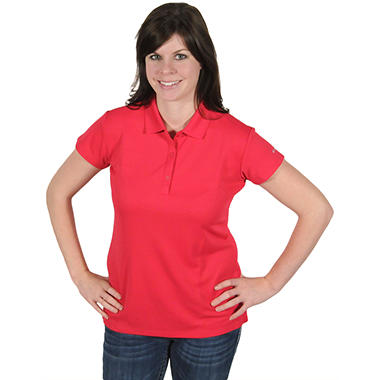 Columbia® Women's Innisfree Short Sleeve Polo - Rose