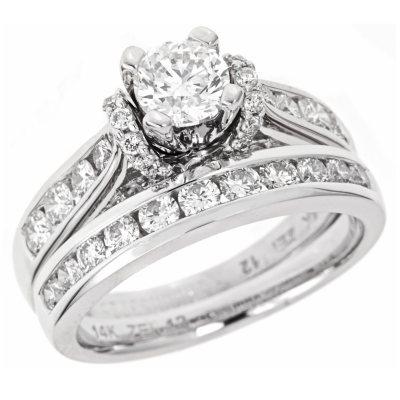 bridal sets diamond engagement wedding ring sets sam s club