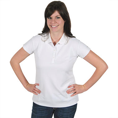 Columbia® Women's Innisfree Short Sleeve Polo - White