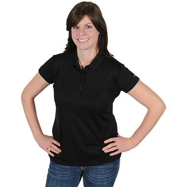 Columbia® Women's Innisfree Short Sleeve Polo - Black
