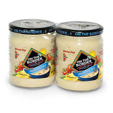 On The Border� Monterey Jack Queso - 2 pk.