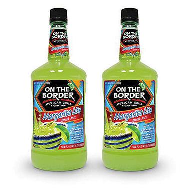 On The Border® Margarita LITE Drink Mix - 2 pk.