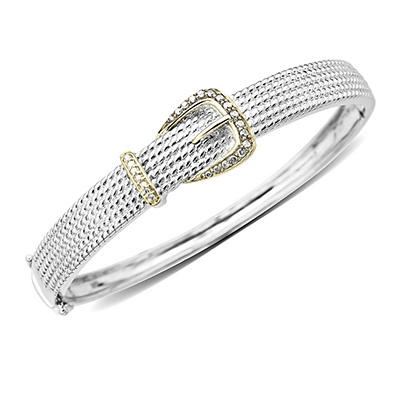 .20 ct. t.w. Diamond Buckle Bangle