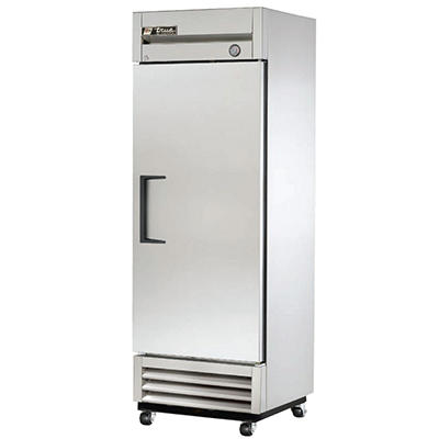 True 1-Door Stainless Steel Reach-In Refrigerator - 19 cu. ft.