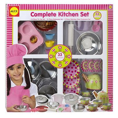 Complete flower kitchen set sam 39 s club for Entire kitchen set