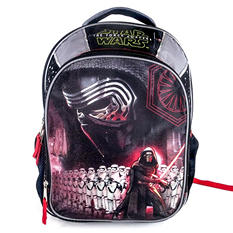 Star Wars Episode 7 Kylo Ren and Stormtrooper Backpack, Gray/Black