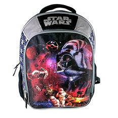 Star Wars Classic Darth Vader Backpack, Gray/Black