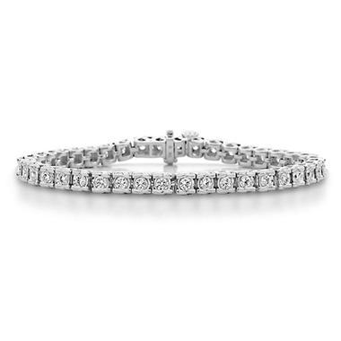 1.14 CT. T.W.Ribbons Diamond Bracelet in 14K Gold (H-I, I1)