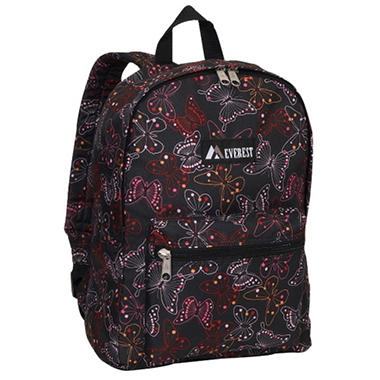 "Everest 15"" Backpacks - Butterfly - 30 ct."