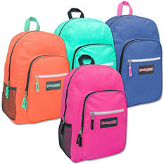"Trailmaker 19"" Backpacks, Assorted Girl Colors, 24pk. Case"