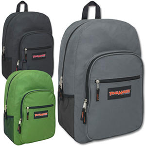 "Trailmaker 19"" Backpacks, Assorted Boy Colors, 24ct. Case"