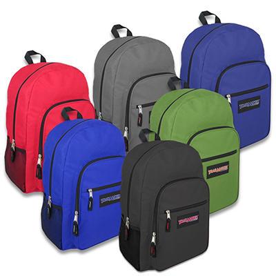 "Trailmaker 19"" Backpacks - 6 Colors - 24 ct."