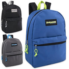 "Trailmaker 17"" Backpacks - Boy Colors - 24 ct."