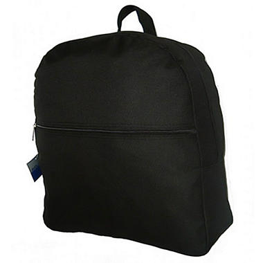 "HV 16"" Backpacks - Black - 50 ct."