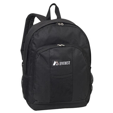 "Everest 17"" Backpacks - Black - 30 ct."