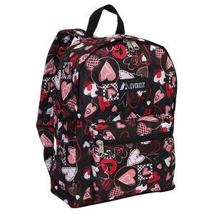 """Everest 15"""" Backpacks - Heart - 30 ct."""