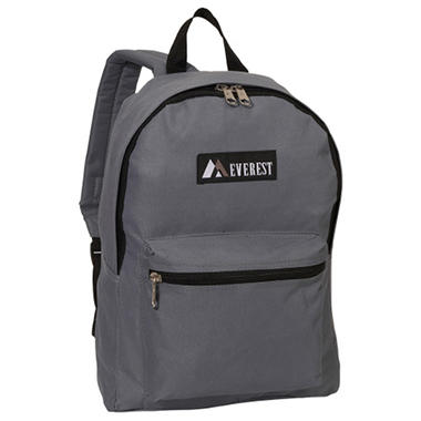 "Everest 15"" Backpacks - Dark Gray - 30 ct."