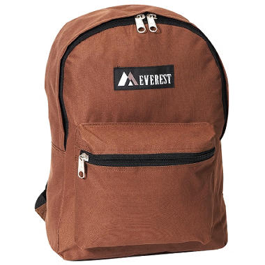 "Everest 15"" Backpacks - Brown - 30 ct."