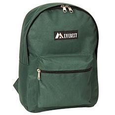 """Everest 15"""" Backpacks - Dark Green - 30 ct."""
