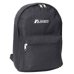 "Everest 15"" Backpacks - Black - 30 ct."