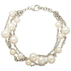 Freshwater Cultured Pearl Multilayered Bracelet