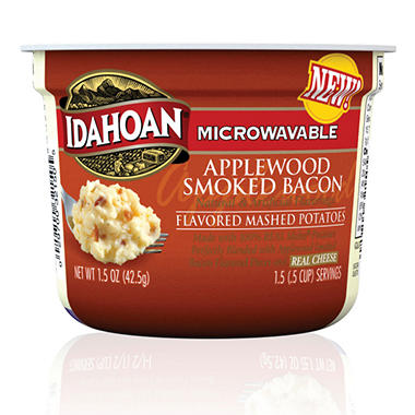 Idahoan Bacon Mashed Potatoes - 1.5 oz. Cups - 24 ct.