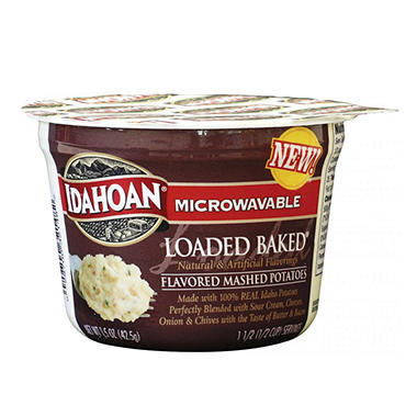 Idahoan Loaded Mashed Potatoes - 1.5 oz Cup - 24 ct.