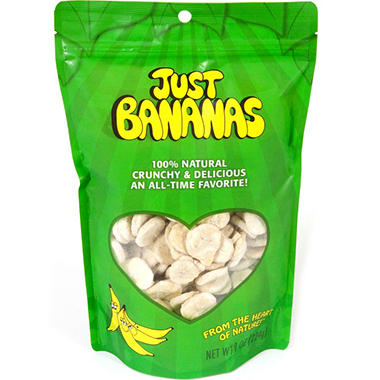 Just Bananas - 8 oz. pouches - 3 pk.